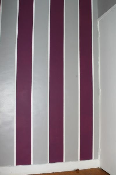D co comment peindre un mur de deux ou plusieurs couleurs de peinture 32 - Peindre un mur en deux couleurs ...